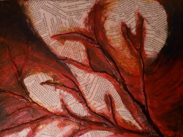 """Chora"" 8x10 mixed media on canvas"
